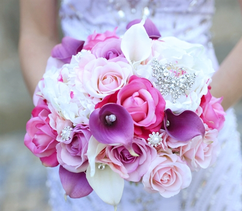 Lilac violet and pink roses callas and peonies natural touch lilac violet and pink roses callas and peonies natural touch bouquet mightylinksfo